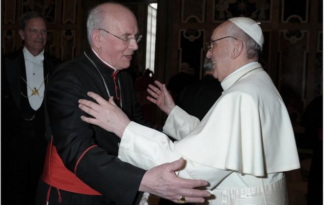 Card Brady Pope Francis