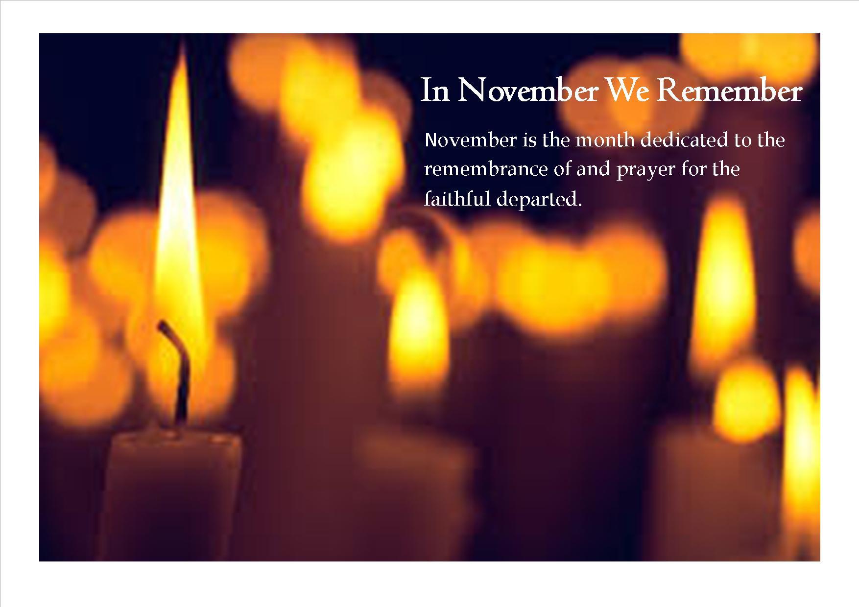 November Remembrance image