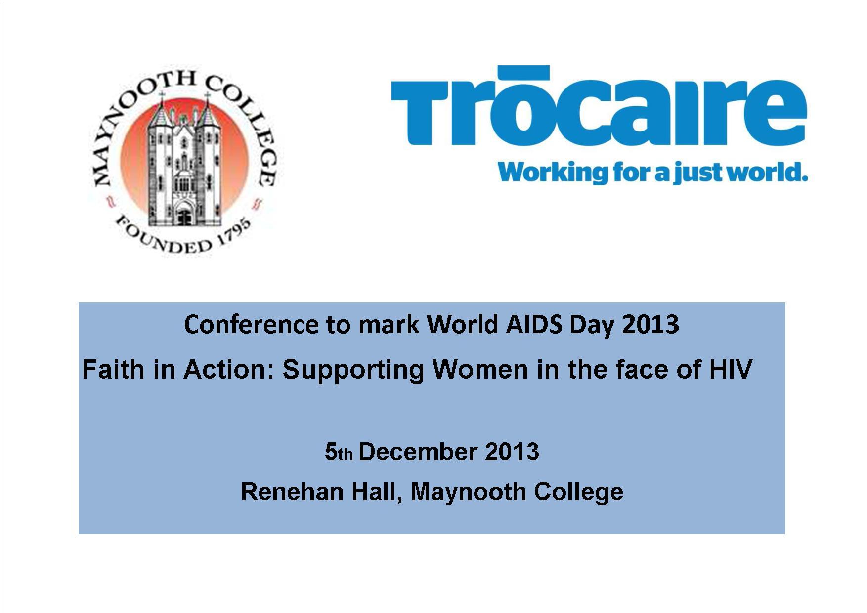World Aids Day banner