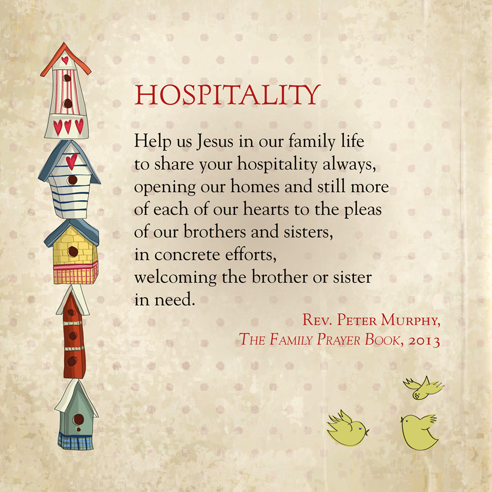 Hospitality Family Prayer Book