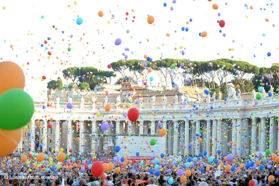 Family Day Image from Rome October 27 2013