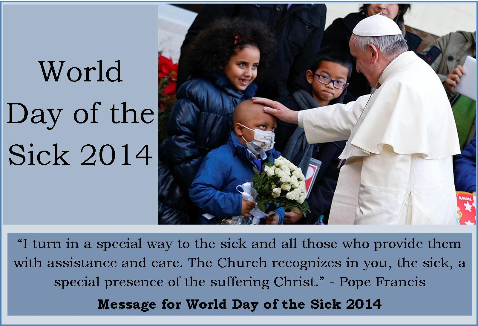 World Day of the Sick image 2014