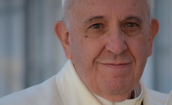 Pope Francis taken by Dani Ibanez18 April 2014