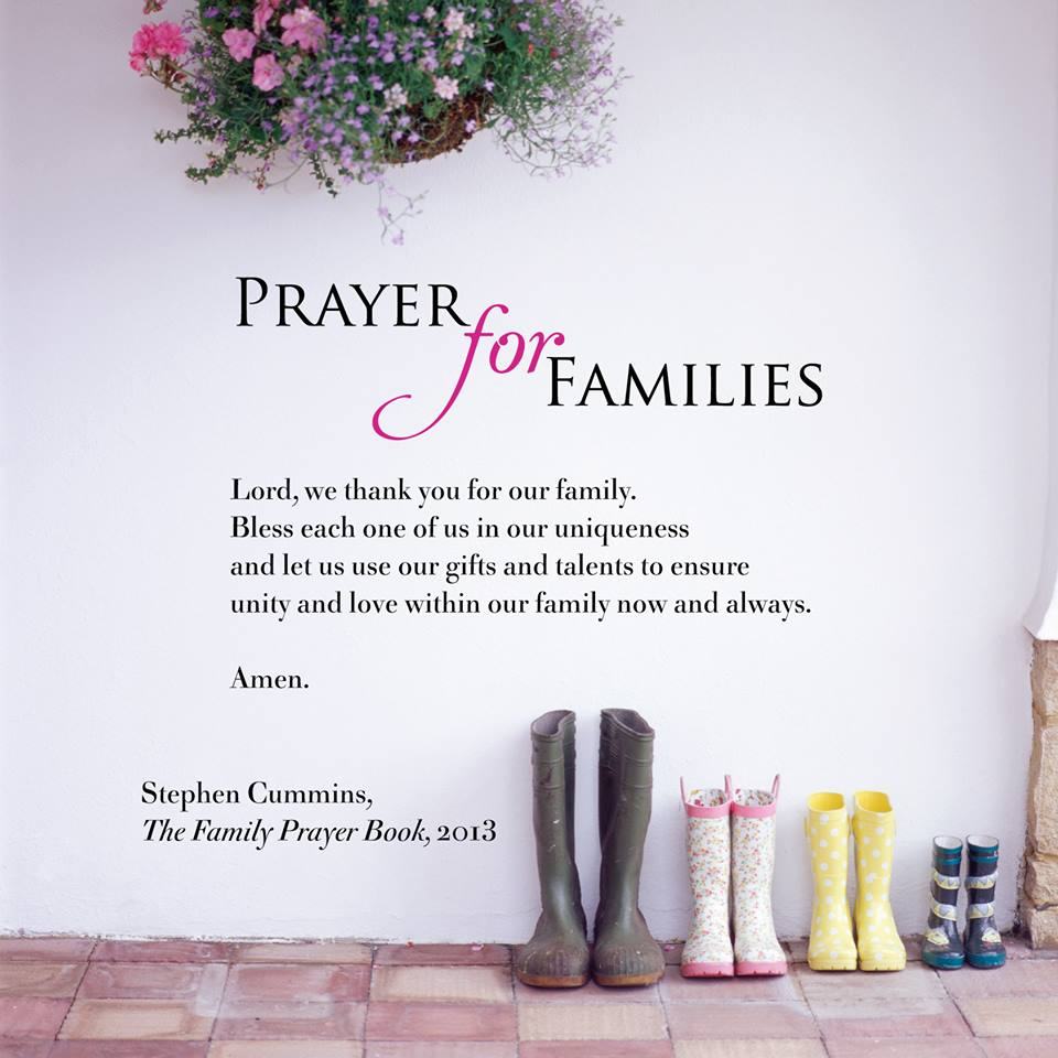 Prayer for Families Family Prayer Book