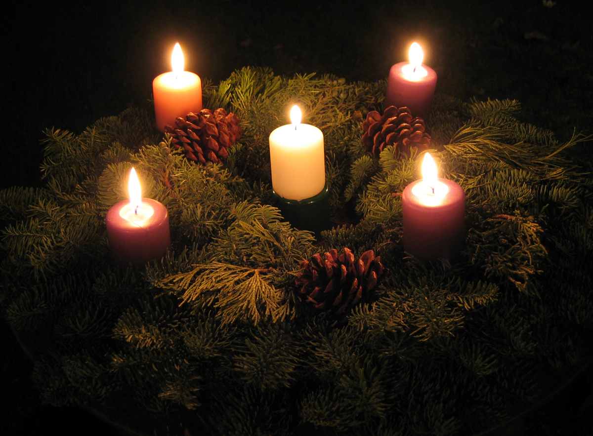 advent candles 2014