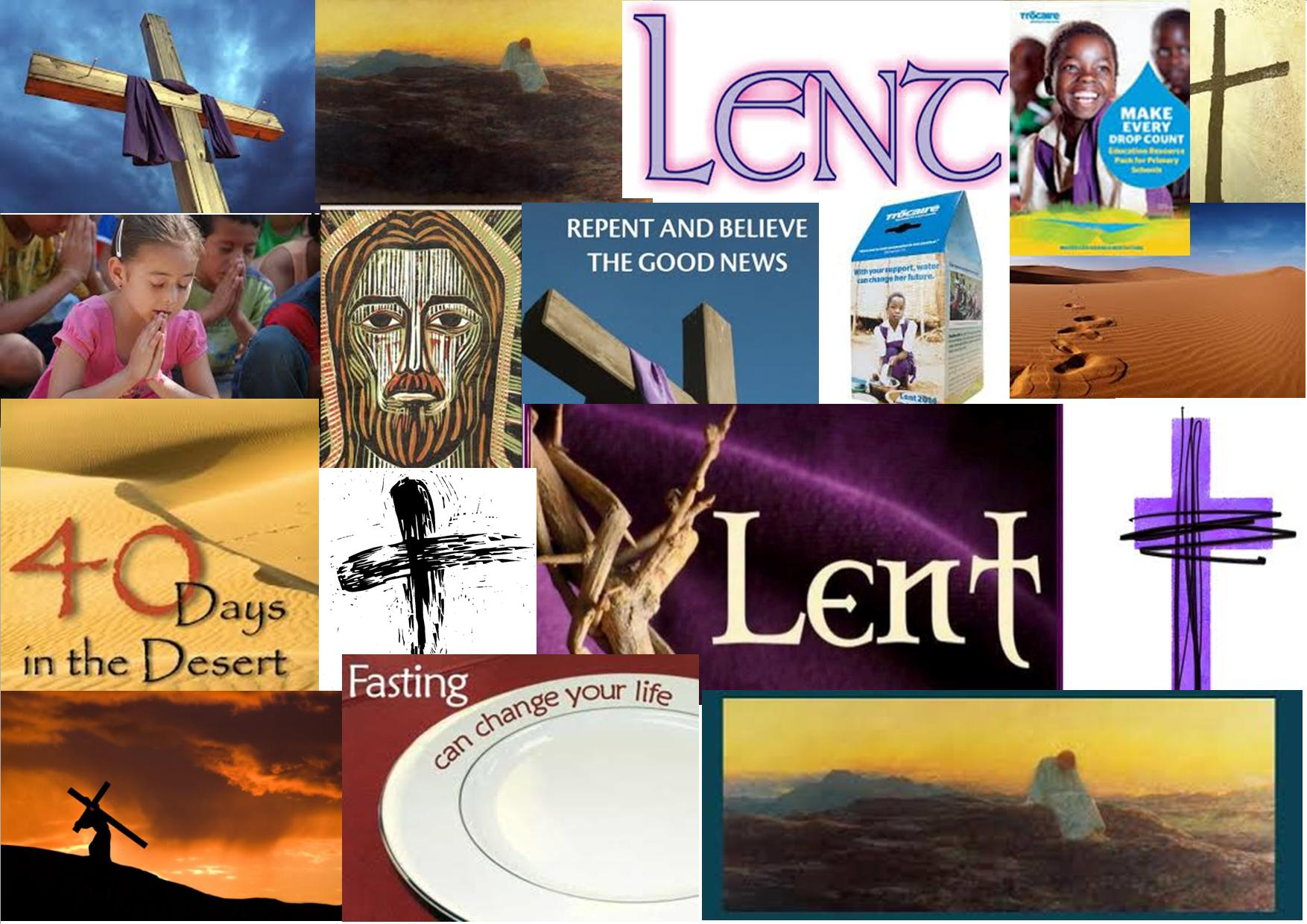Facebook timeline image for Lent