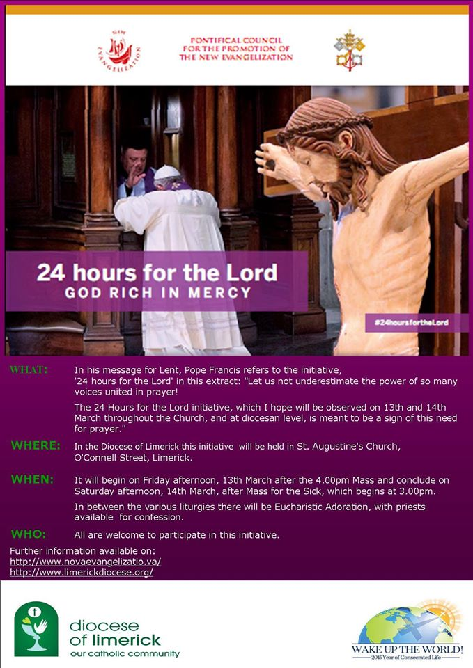 24 hours for the lord limerick