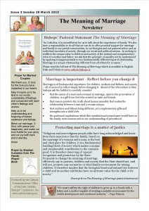 The Meaning of Marriage Issue 3 - 29 March 2015