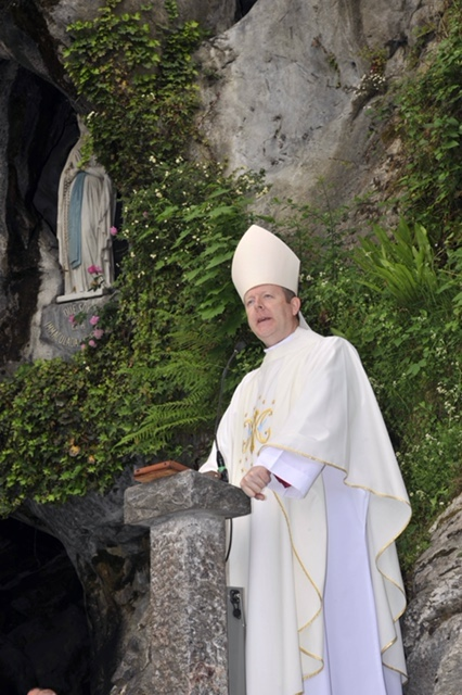 Archbishop Eamon Martin in Lourdes MAY 2015