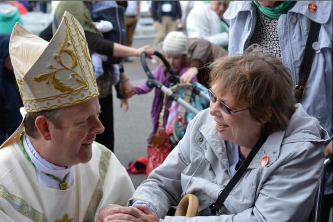 Archbishop Eamon in Knock