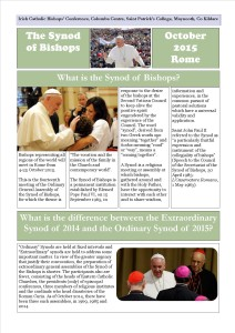 The Synod of Bishops - Frequently Asked Questions