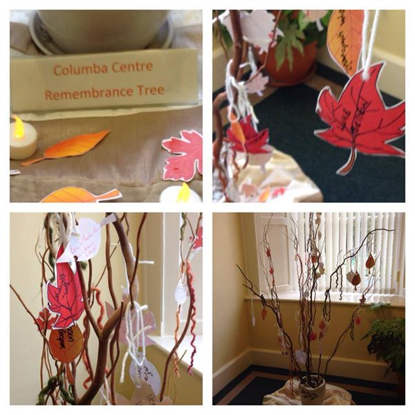 remembrance tree November 2014