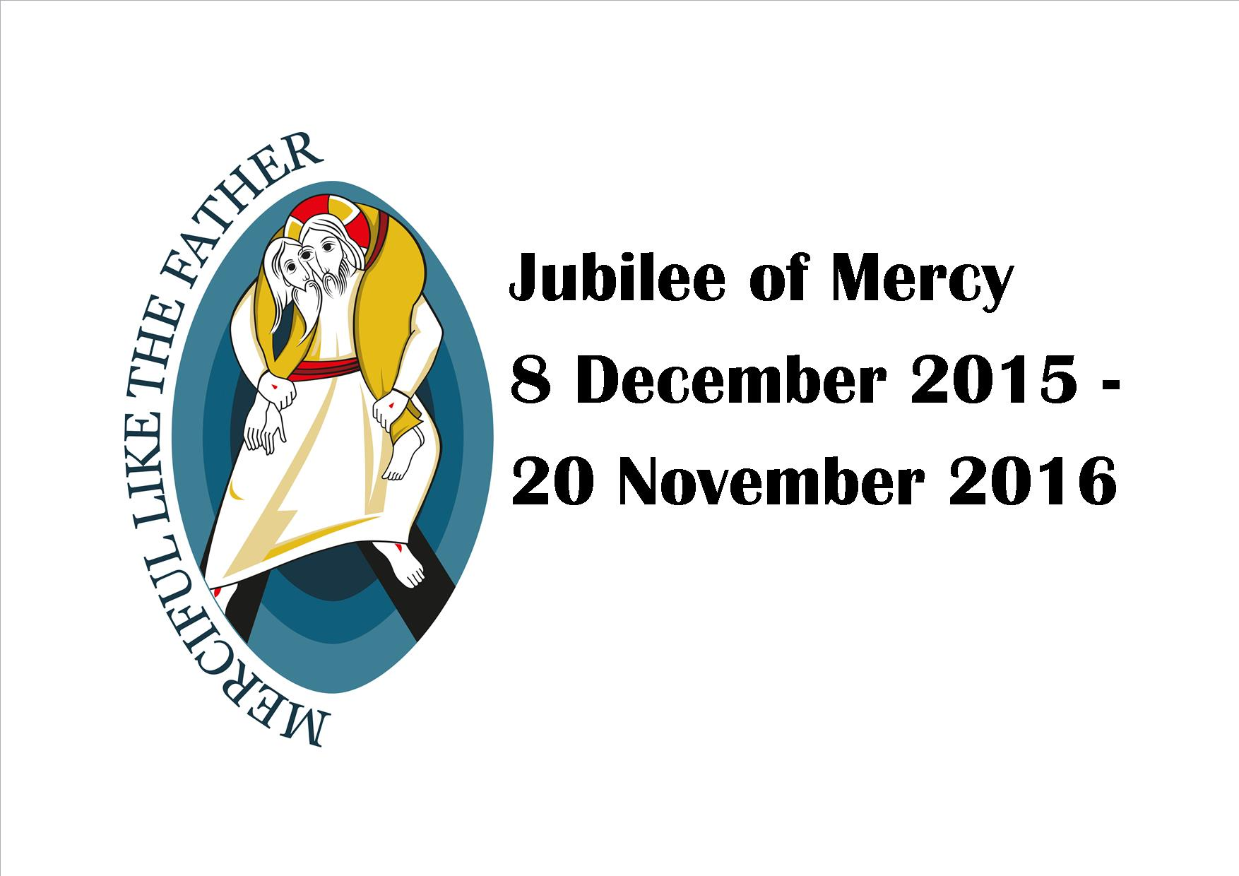 Jubilee of Mercy web image with dates 2