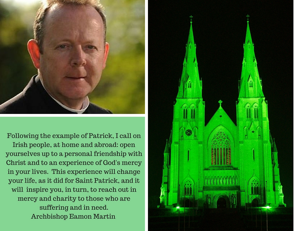 Archbishop Eamon Saint Patrick's Day
