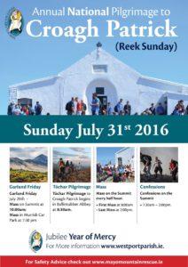 Reek Sunday 2016