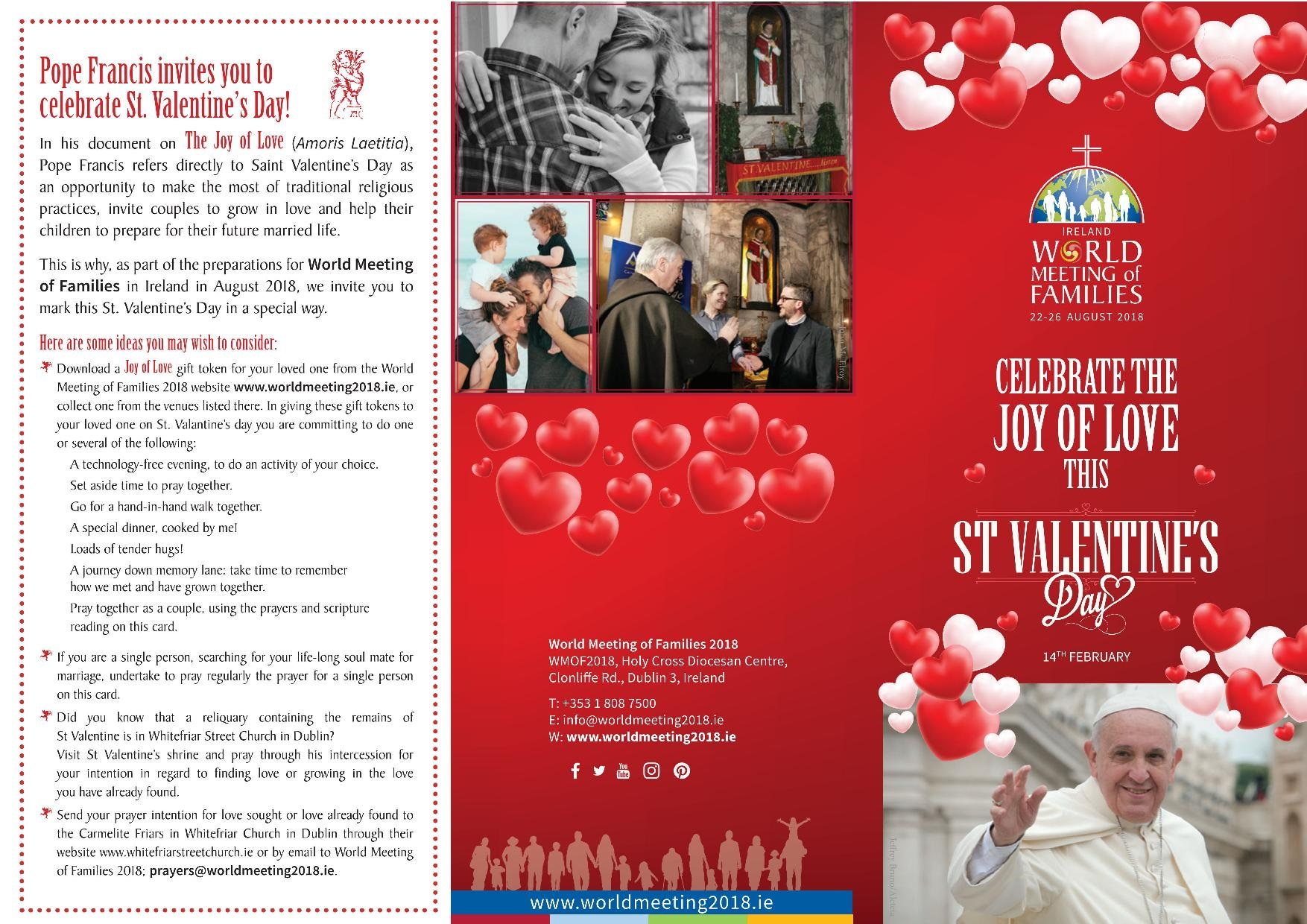 Pope Francis Invites The Church To Celebrate Saint Valentineu0027s Day