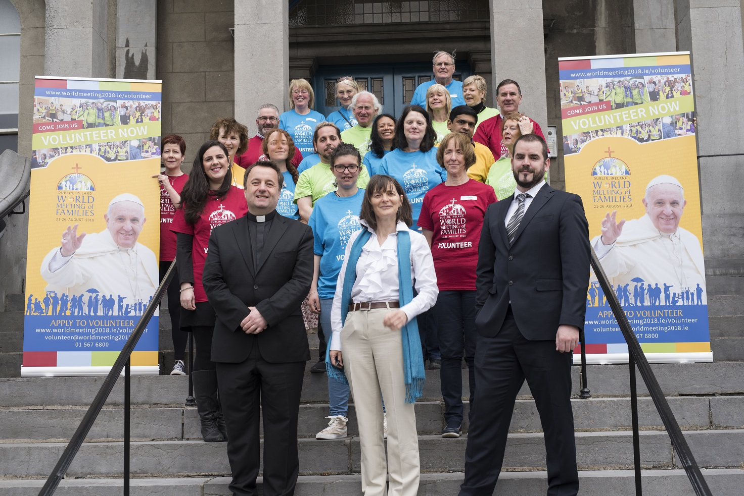 Thousands of volunteers invited to sign up for the World Meeting ...