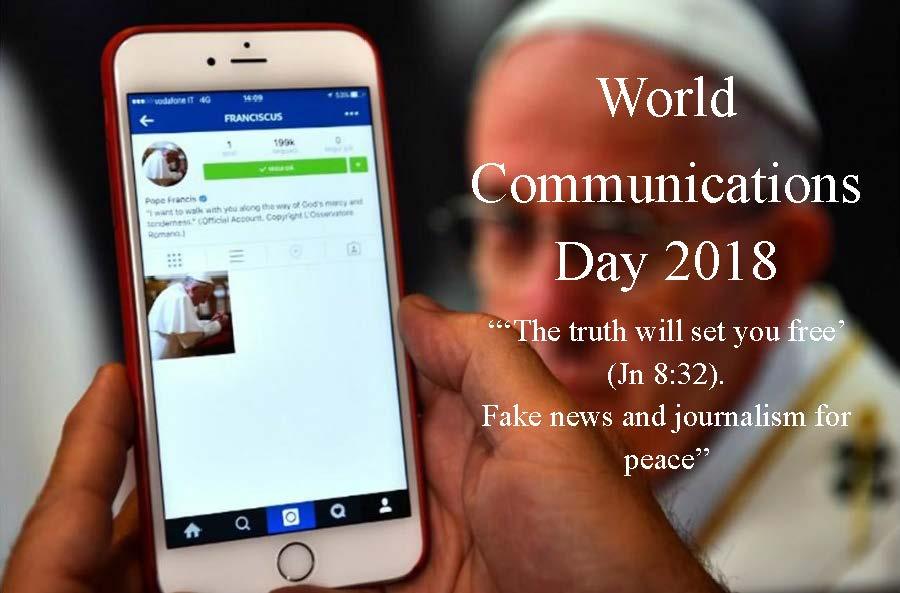 World Communications Day 2018 | Irish Catholic Bishops' Conference