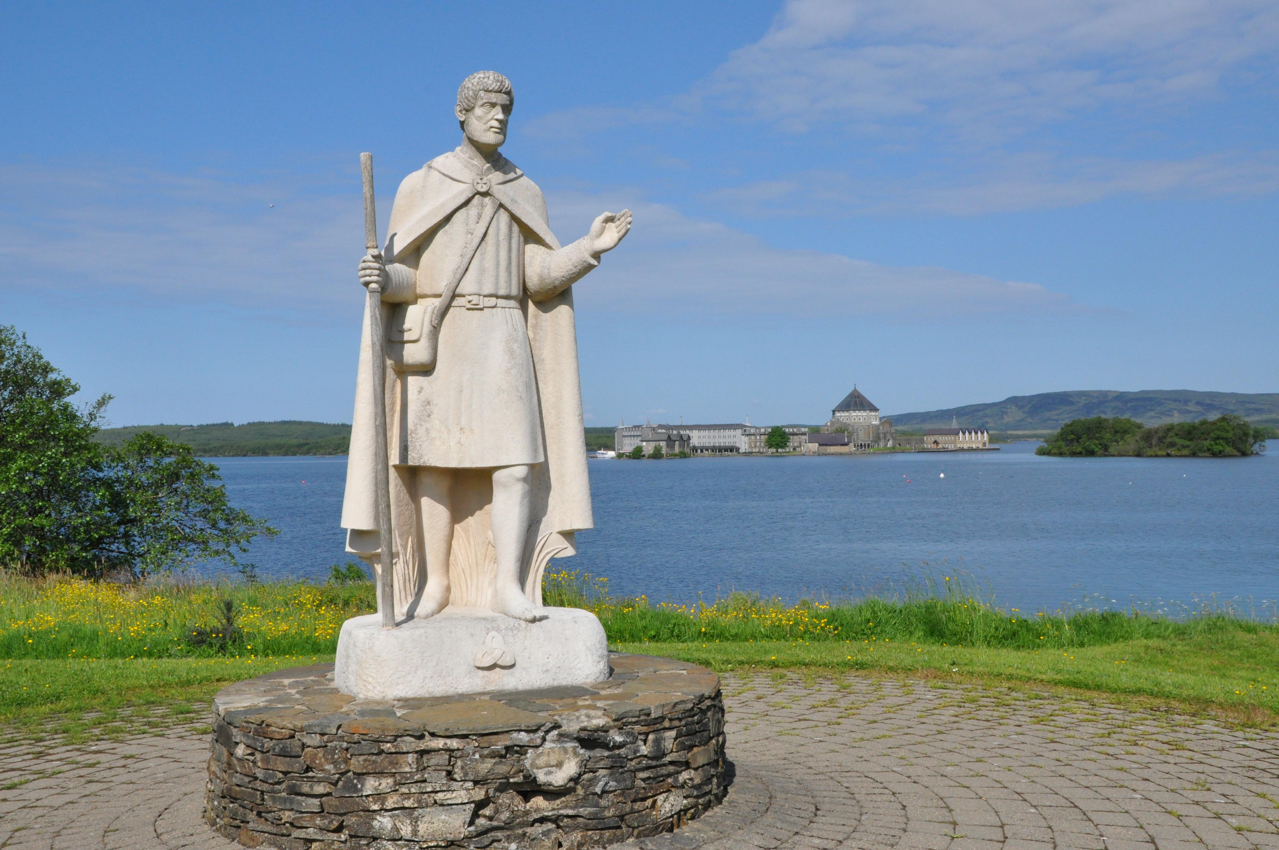 Patron Saint of Ireland Patrick Ring 925 Silver Details about  /Saint St Irish Crosier Bishop