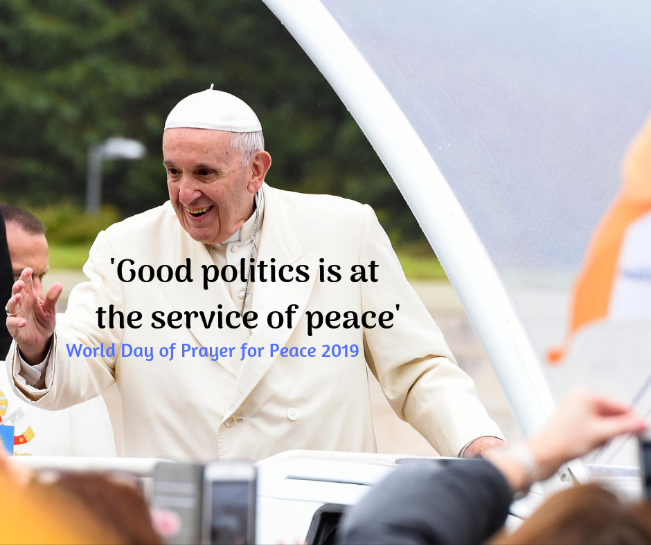 Pope Francis' message for World Day of Peace, 1 January 2019