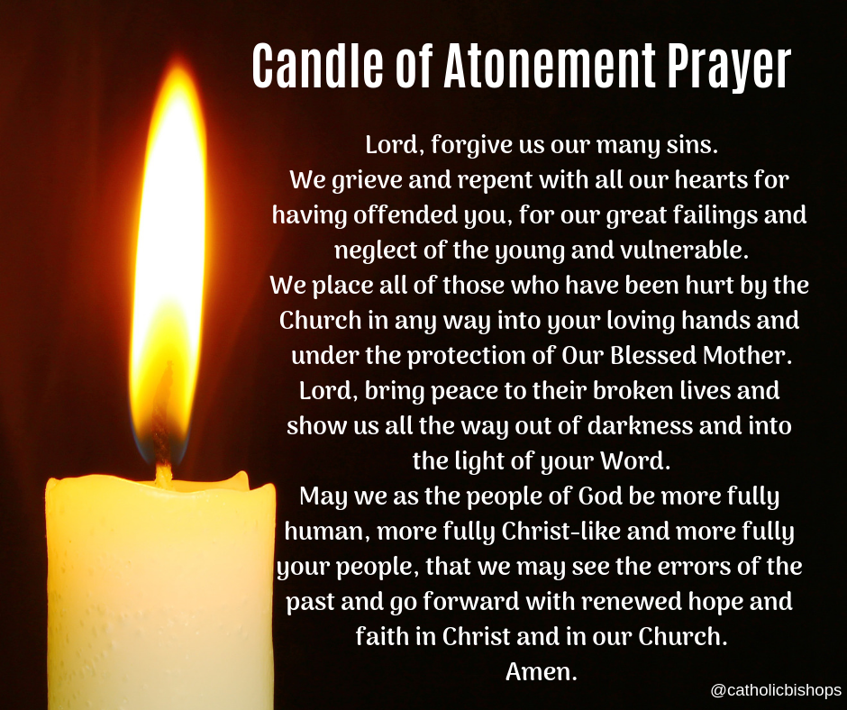 Candles Of Atonement To Be Lit In Cathedrals And Parishes