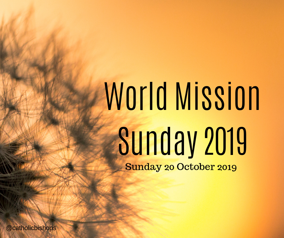 Pope Francis' message for World Mission Day 2019 | Irish