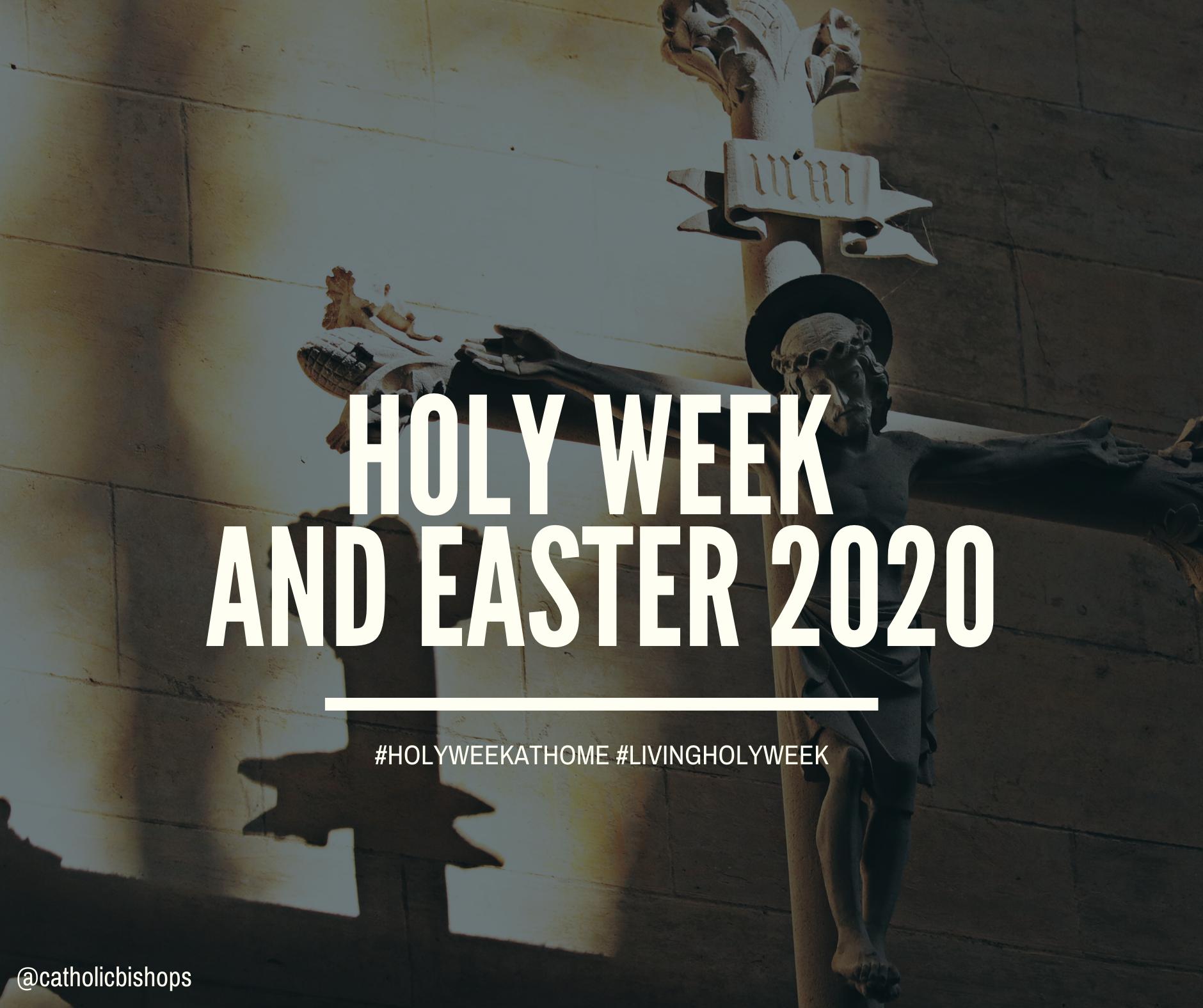 Holy Week and Easter 2020 | Irish Catholic Bishops' Conference