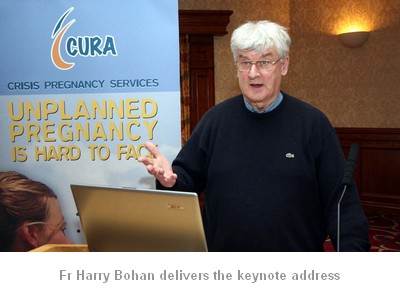 fr harry bohan gives keynote address